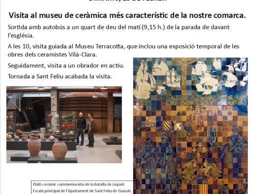 Matinal al Museu de la Terracotta 13/02/2018